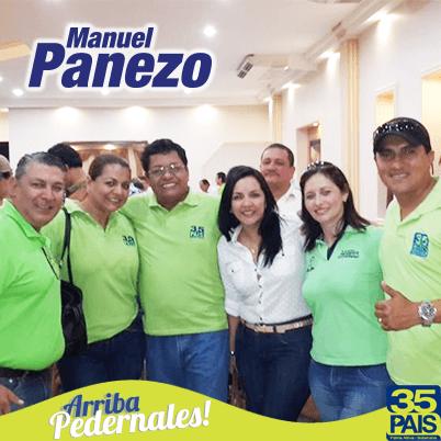Manuel Panezo Alcalde de Pedernales