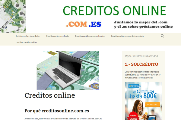 creditos online inbound marketing